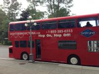 double decker bus tours in Victoria