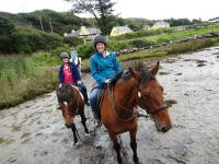 horesback riding in Ireland