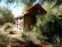 Miraval Life and Balance Spa treatment tents