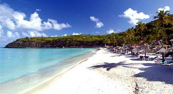 Dickenson Bay Beach ~ courtesy of comfortablejeans.com