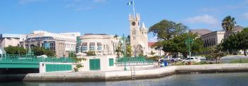 downtown Bridgetown markets and nightlife - courtesy barbados.org