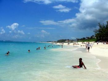 Cable Beach Bahamas Courtesy Of Traveldee