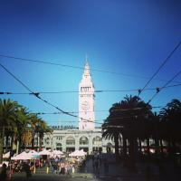 San Fran's historic Ferry Building