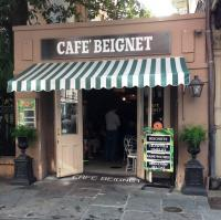 Cafe Beignet on Royal St.