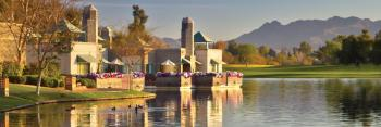 Casitas lakeside at Hyatt's Gainey Ranch and Spa