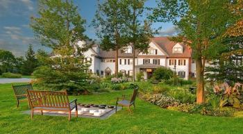 grounds at The Essex Culinary Resort and Spa in Vermont