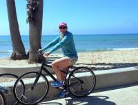 exploring the coastal bikeway