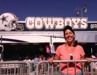 visiting the Dallas Cowboys training camp