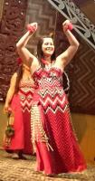 traditional Maori costume and dance