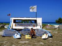 try your hand at windsurfing with Windsurf Antigua