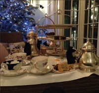 High Tea at London's Dukes Hotel