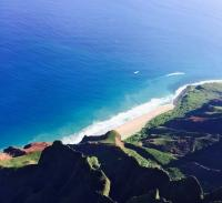 the beautiful scapes of Hawaii