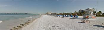 Clearwater Beach ~ courtesy of the Google car