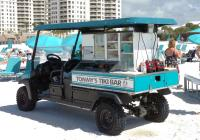 mobile Tiki bar keeps the refreshments rolling