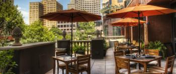 Citrus patio on the Riverwalk