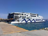 a very efficient Greek Ferry Service