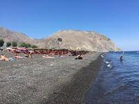 Black Beach, Santorini