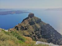 epic hike over to Skaros Rock