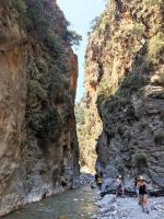 breathtaking Samaria Gorge