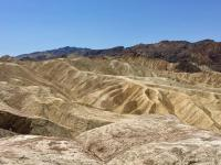 the badlands terrain of Death Valley