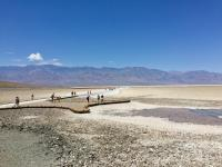 the Salt Flats at Badwater Basin