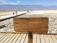 Badwater Basin - lowest point in North America