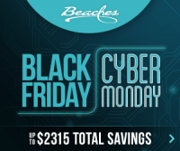 Beaches Cyber Monday Deals