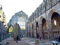 majestic Holyrood Abbey