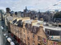 view from our Royal Mile flat