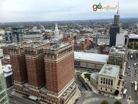 Buffalo City view from City Hall lookout