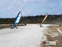 try Land sailing in Bonaire