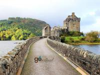 Eilean Donan - destroyed and rebuilt stone by stone