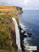 Scotland's Mealt Falls and Kilt Rock