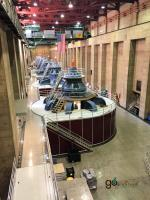 Hoover Dam Power Plant tour & turbines