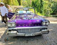 Havana's Vintage cars - 1958 Pontiac Chieftain (click pics to enlarge)