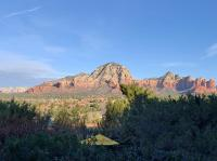 Sedona's red rock beauty