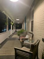 A front porch for evening lounging