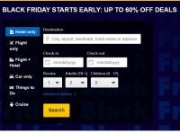 Expedia Black Friday Sale