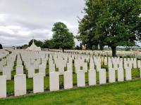 Tyne Cot Cemetery, Belgium (impeccable as they all were) - click any pic to enlarge