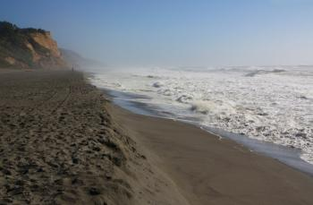 Northern California's Centerville Beach (pic courtesy of CaliforniaBeaches)