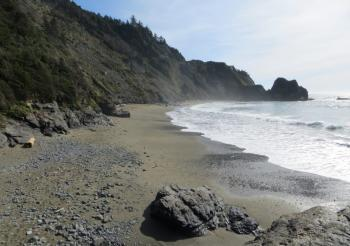 Northern California's Enderts Beach (pic courtesy of CaliforniaBeaches)