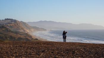 Northern California's Fort Funston Beach