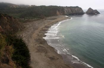 Northern California's Greenwood State Beach (pic courtesy of CaliforniaBeaches)
