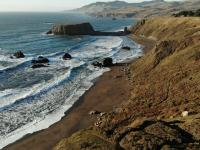 Northern California's Jenner Beach