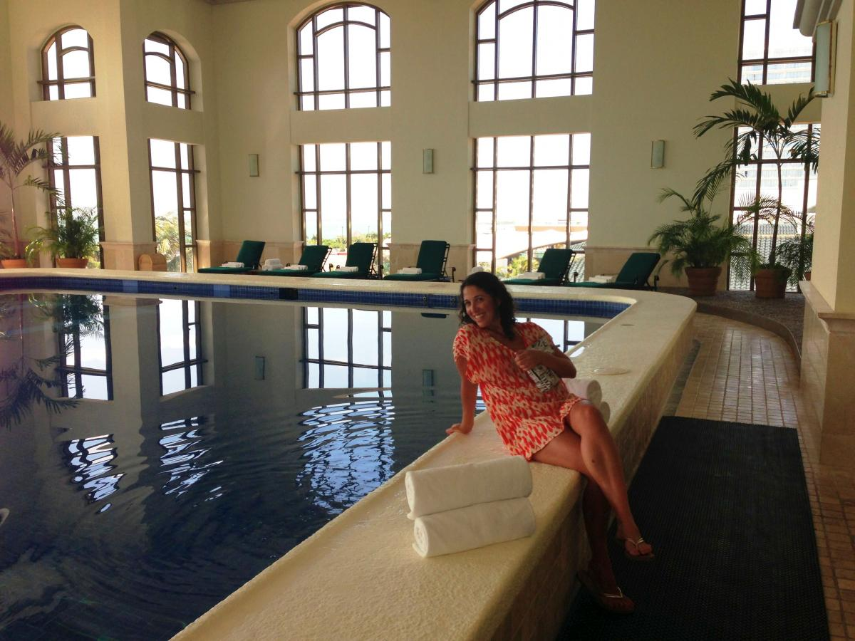the spa at the JW Marriott Cancun