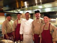Chef Juan's team at Wine Me, Dine Me