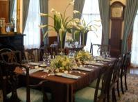 Bragg-Mitchell Mansion dining room