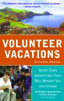 Volunteer Vacations by Doug Cutchins