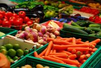 healthy foods from local markets