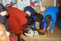 measuring babies in Ngong